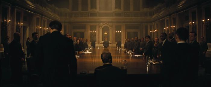 SPECTRE HQ 007 Christoph Waltz Daniel Craig