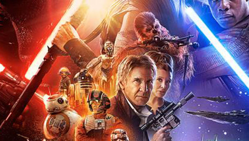 Star Wars The Force Awakens Final Poster Classic Heroes