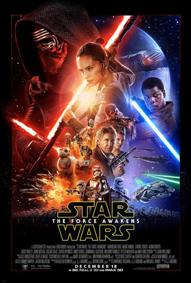 Star Wars The Force Awakens Final Poster