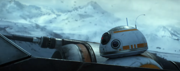 Star Wars The Force Awakens Final Trailer #3 B-88 In X-Wing Starkiller Base