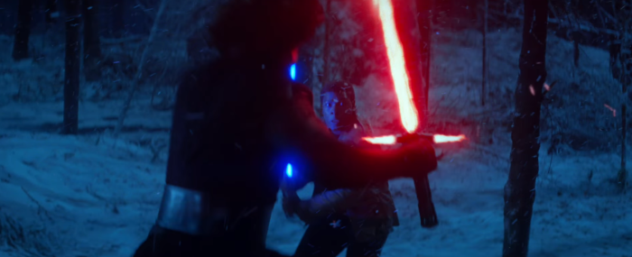 Star Wars The Force Awakens Final Trailer #3 Finn vs Kylo Ren Lightsaber Battle