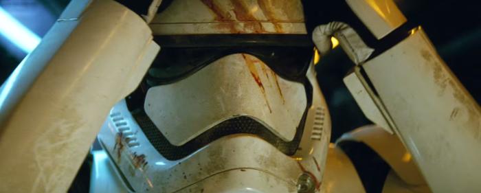 Star Wars The Force Awakens Final Trailer #3 Finn Wearing Stormtrooper Helmet