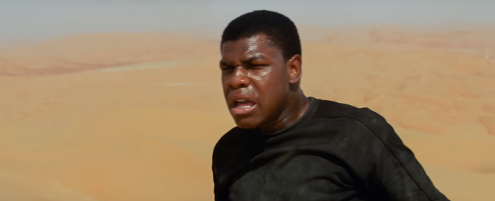 Star Wars The Force Awakens Final Trailer #3 Finn's Crashed On Jakku 2