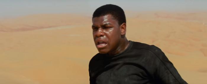 Star Wars The Force Awakens Final Trailer #3 Finn's Crashed On Jakku 2