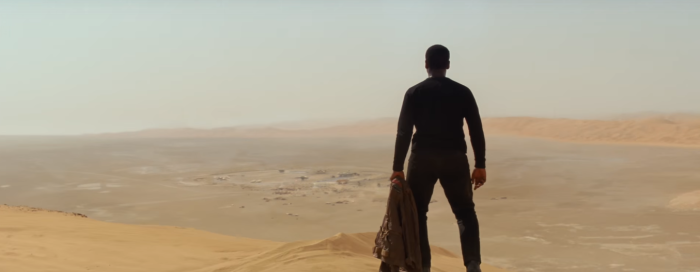 Star Wars The Force Awakens Final Trailer #3 Finn's Crashed On Jakku