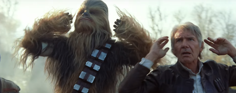 Star Wars The Force Awakens Final Trailer #3 Han Solo and Chewbacca