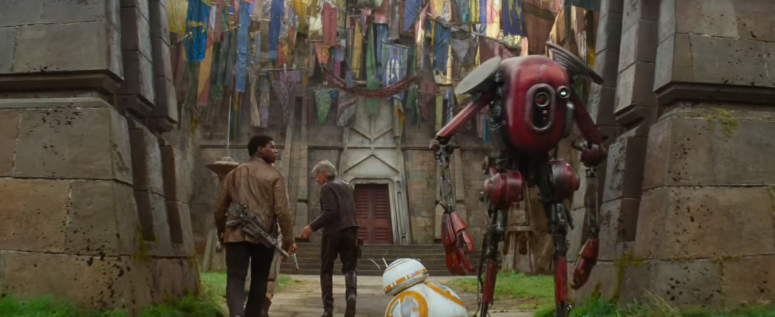 Star Wars The Force Awakens Final Trailer #3 Han Solo and Finn and Droids