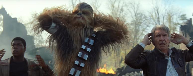 Star Wars The Force Awakens Final Trailer #3 Han Solo Chewbacca Finn Captured