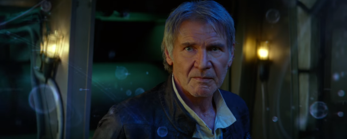 Star Wars The Force Awakens Final Trailer #3 Han Solo Harisson Ford Star Map