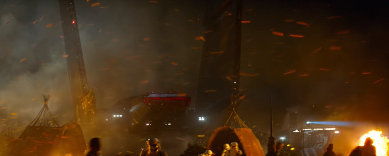 Star Wars The Force Awakens Final Trailer #3 Imperial Ship Lands