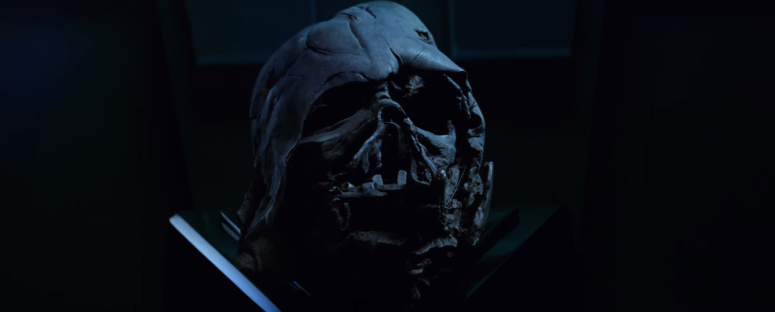 Star Wars The Force Awakens Final Trailer #3 Kylo Ren In Possession of Darth Vader Helmet