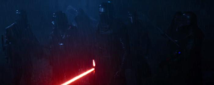 Star Wars The Force Awakens Final Trailer #3 Kylo Ren Lightsaber in Rain 2
