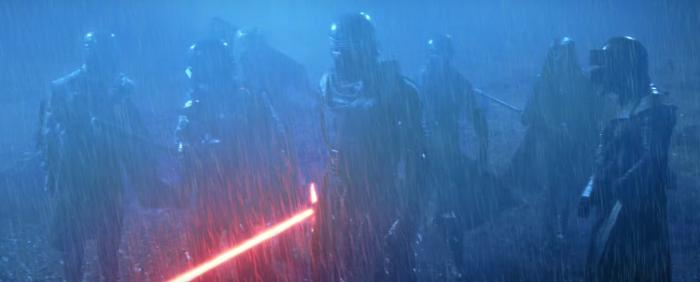 Star Wars The Force Awakens Final Trailer #3 Kylo Ren Lightsaber in Rain 3