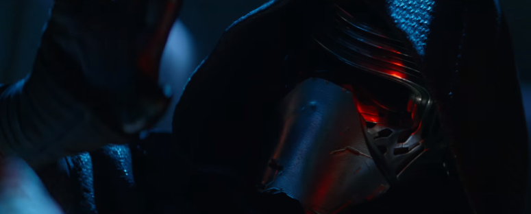 Star Wars The Force Awakens Final Trailer #3 Kylo Ren Mask Close Up Reaching