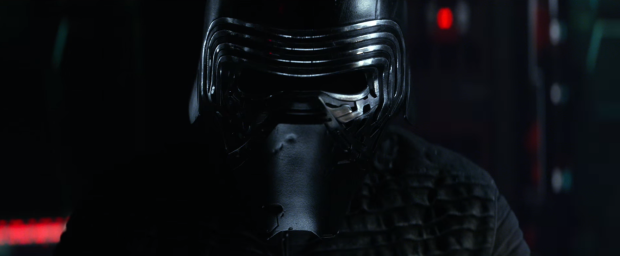 Star Wars The Force Awakens Final Trailer #3 Kylo Ren Mask Close Up