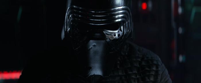 Star Wars The Force Awakens Final Trailer #3 Kylo Ren Mask Close Up