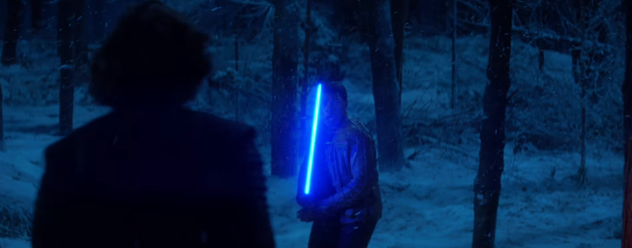 Star Wars The Force Awakens Final Trailer #3 Kylo Ren vs Finn Lightsaber Forrest