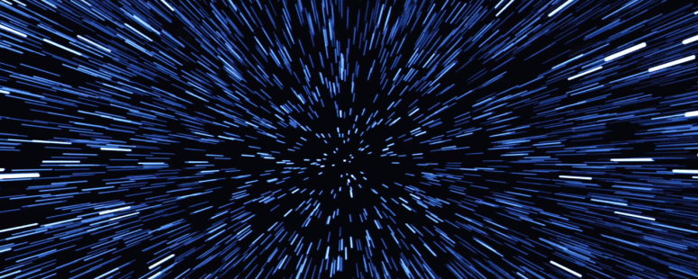 Star Wars The Force Awakens Final Trailer #3 Lightspeed Jump 2