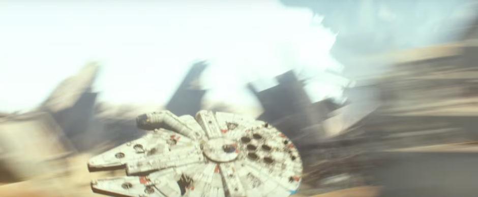 Star Wars The Force Awakens Final Trailer #3 Millenium Falcon Runs