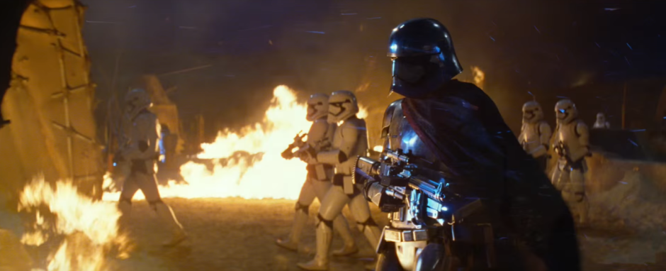 Star Wars The Force Awakens Final Trailer #3 Stormtroopers and Captain Phasma