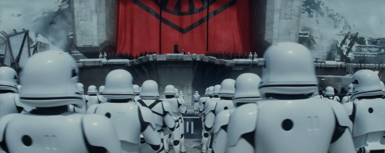 Star Wars The Force Awakens Final Trailer #3 The New Order Stormtroopers and General Hux
