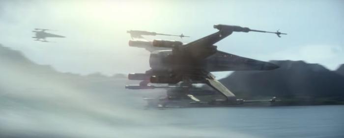 Star Wars The Force Awakens Final Trailer #3 X-Wing Black Squadren