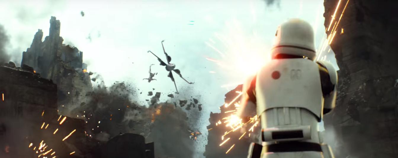 STAR WARS: THE FORCE AWAKENS Trailer #3 HD Screengrabs Vol ...