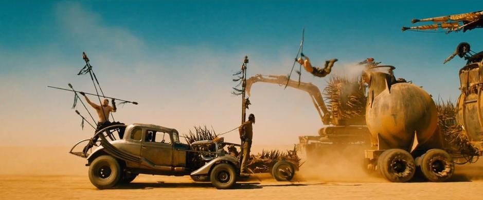 Tom Hardy Mad Max Fury Road Juming Attack