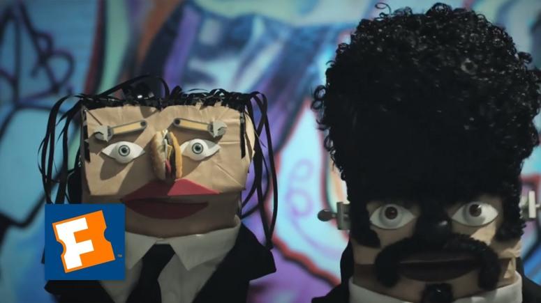 Fandango Bag Puppets