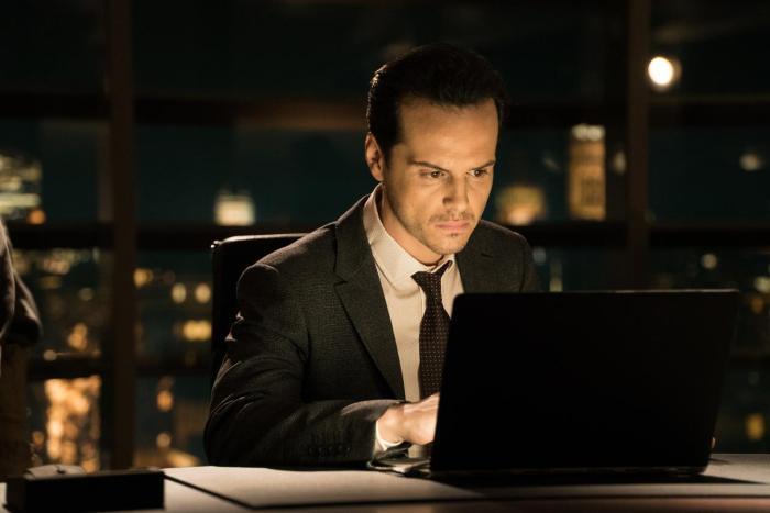 Andrew Scott as C in SPECTRE