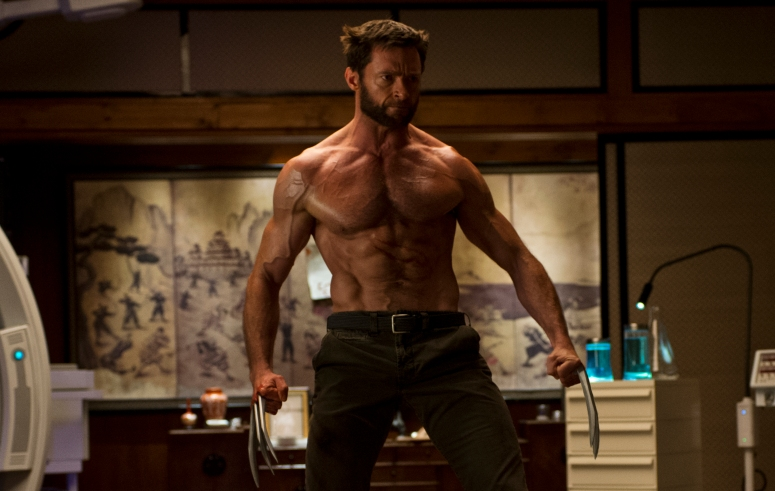 Hugh Jackman as The Wolverine in X-Men: Days of Future Past