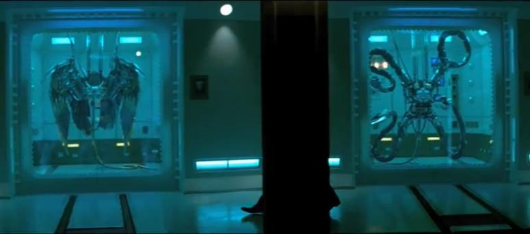 Oscorp Super Soldier Suits Vulture and Doc Ock