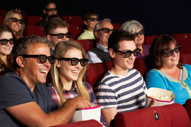 People Seeing Movies