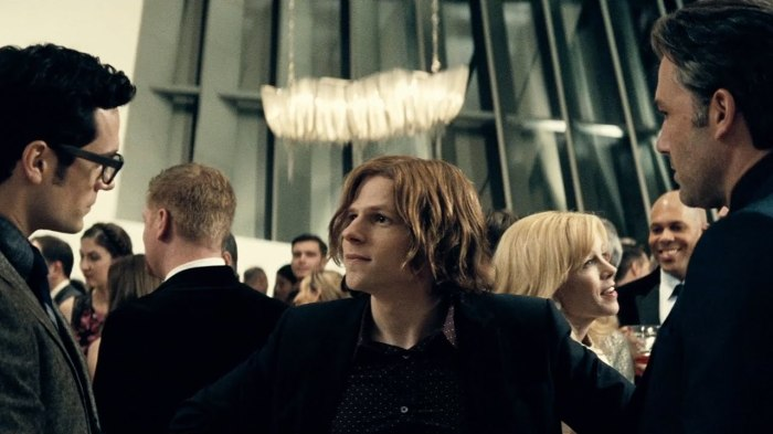 Batman V Superman Dawn of Justice Trailer #2 Lex Luthor Jesse Eisenberg Introduces Bruce Wayne Ben Affleck and Clark Kent Henry Cavill
