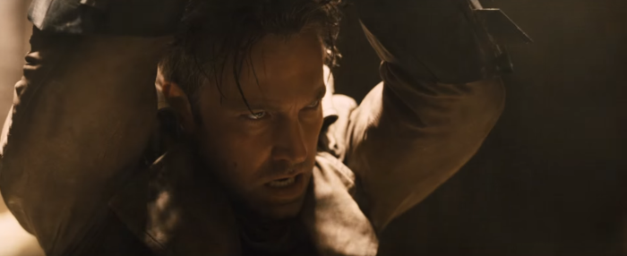 Batman V Superman Gotham TV Spot Ben Affleck Unmasked by Henry Cavill