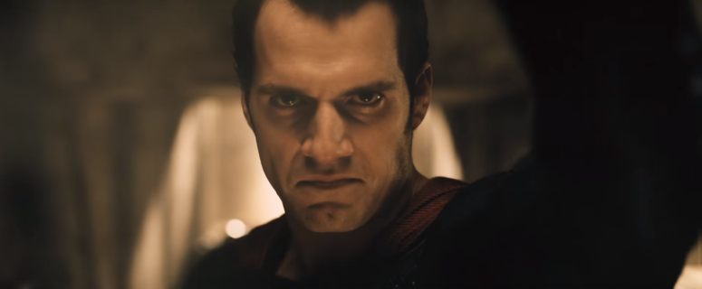 Batman V Superman Gotham TV Spot Henry Cavill Removes Ben Afflecks Mask
