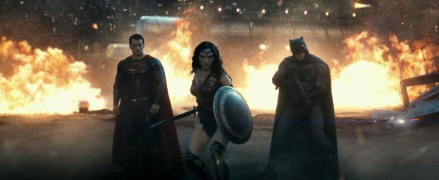 Batman V Superman Trailer #2 Wonder Woman Gal Gadot Batman Ben Affleck and Superman Henry Cavill