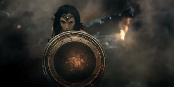 Batman V Superman Trailer #2 Wonder Woman Gal Gadot Shield