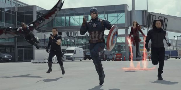 Team Steve Rogers Captain America Civil War Trailer