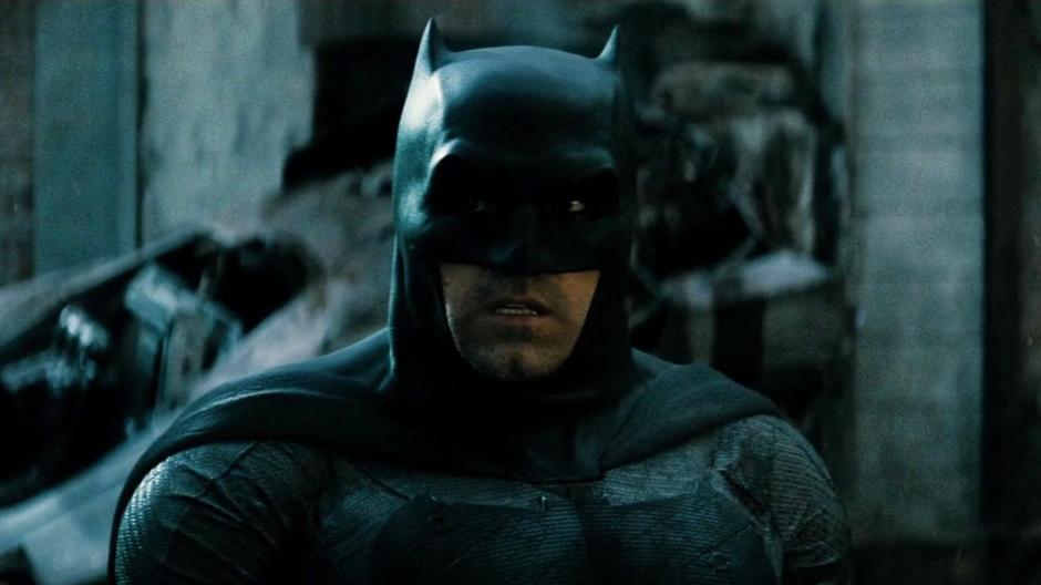 Batman V Superman Dawn of Justice Ben Affleck Under The Cowl