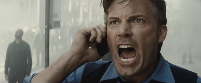Batman V Superman Dawn of Justice Bruce Wayne Ben Affleck Metropolis Yell