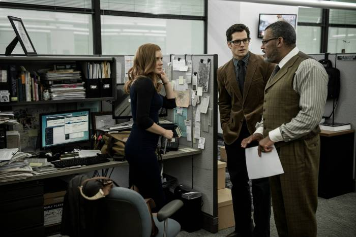 Batman V Superman Dawn of Justice Lois Lane Amy Adams Henry Cavill Clark Kent Perry White