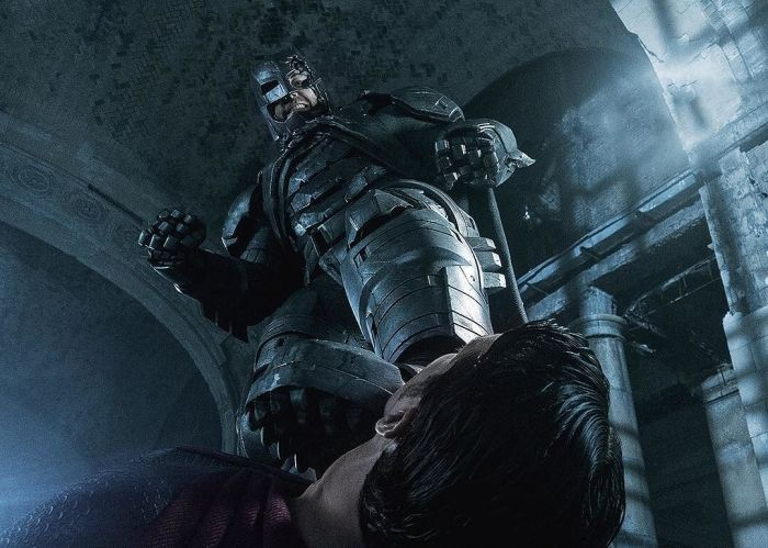 Batman V Superman Dawn of Justice Review Ben Affleck Steps on Henry Cavill