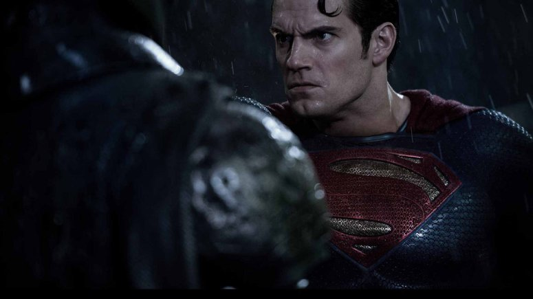 Batman V Superman Dawn of Justice Henry Cavill Superman Pushs Ben Affleck Batman