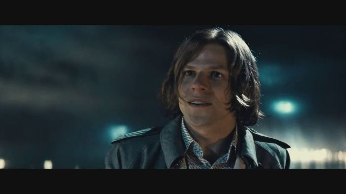 Batman V Superman Dawn of Justice Lex Luthor Jesse Eisenberg on Rooftop