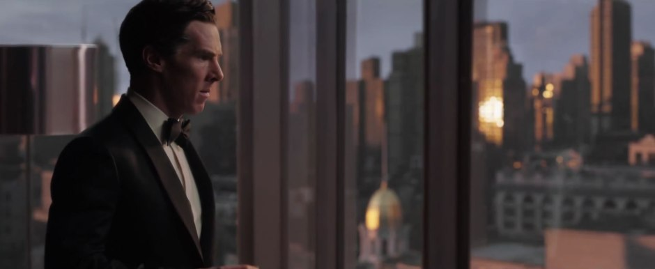 Dr Strange Trailer Benedict Cumberbatch as Stephen Strang in Suit