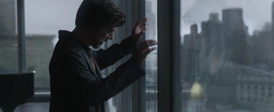Dr Strange Trailer Benedict Cumberbatch as Stephen Strange Bearded in Rags