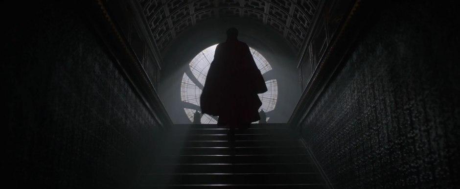 Dr Strange Trailer Benedict Cumberbatch in Full Costume Cape
