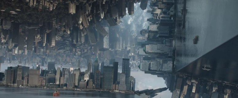 Dr Strange Trailer Cube Citiy Inception