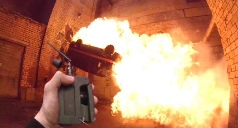 Hardcore Henry Review Detonator Explosion
